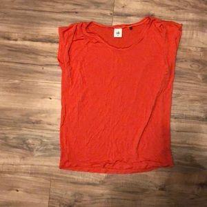 Cabi Medium Orange shirt